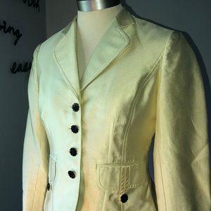 Kay Unger Yellow Blazer